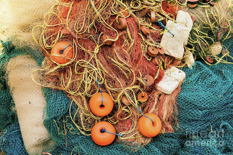 Goan Fishing Net 2 by Miles Whittingham