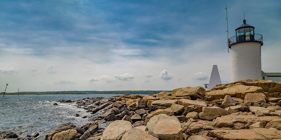 Lighthouse Photograph - Goat Island Lighthouse Breath Of Fresh Air by Betsy Knapp