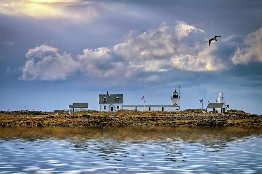 Goat Island Lighthouse by Rick Berk