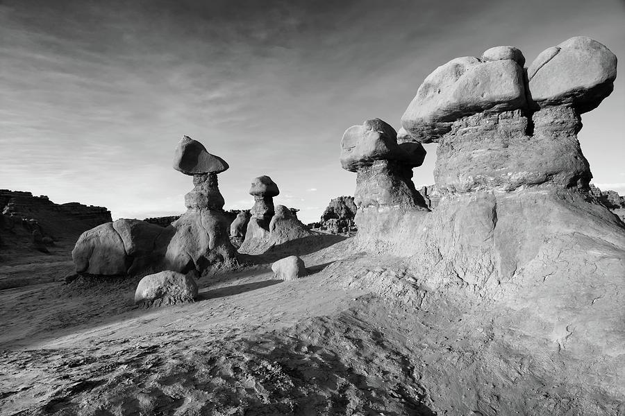 Landscape Photograph - Goblin Valley by David Patton