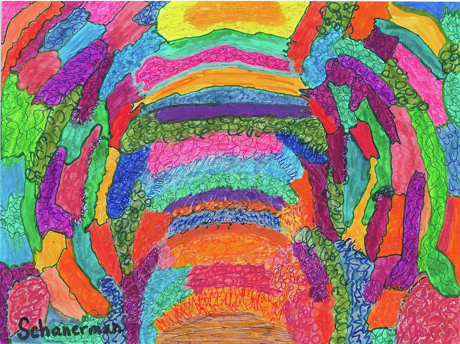 God Is Color - The Original by Susan Schanerman