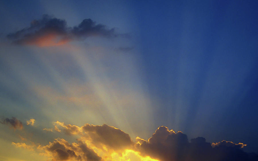 God Rays by Jeff Phillippi