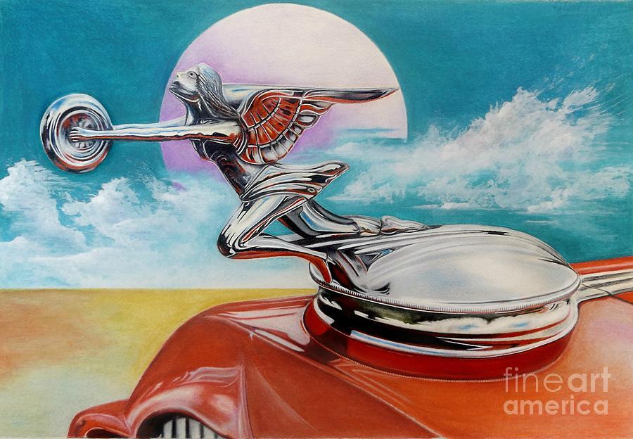 Goddess of Speed by David Neace