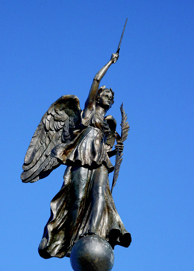 Goddess of Victory and Peace by Paul W Faust - Impressions of Light