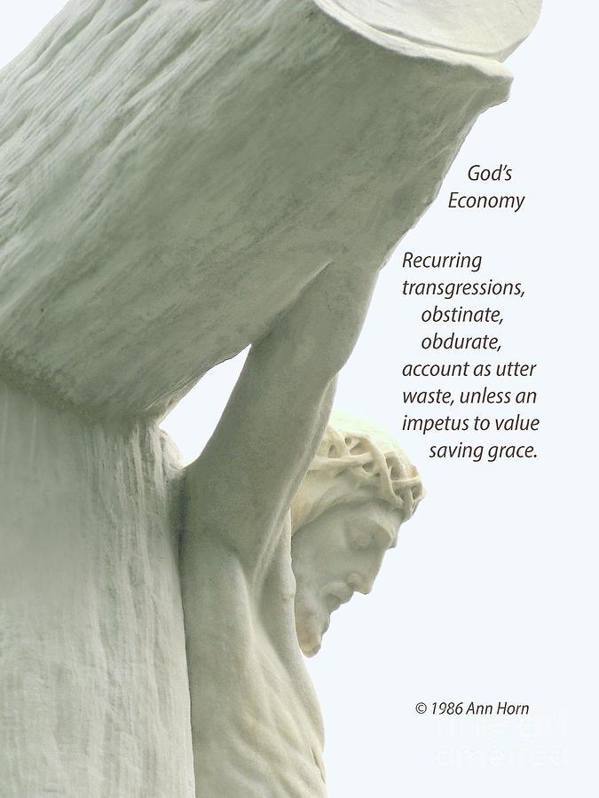 Gods Economy Photograph