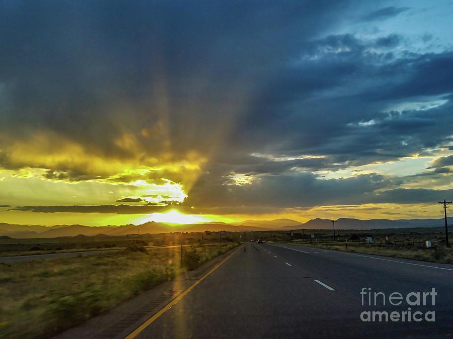 God's Rays by Tony Baca