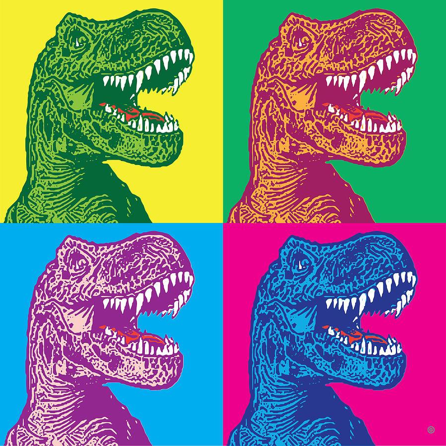 Godzilla POP by Gary Grayson