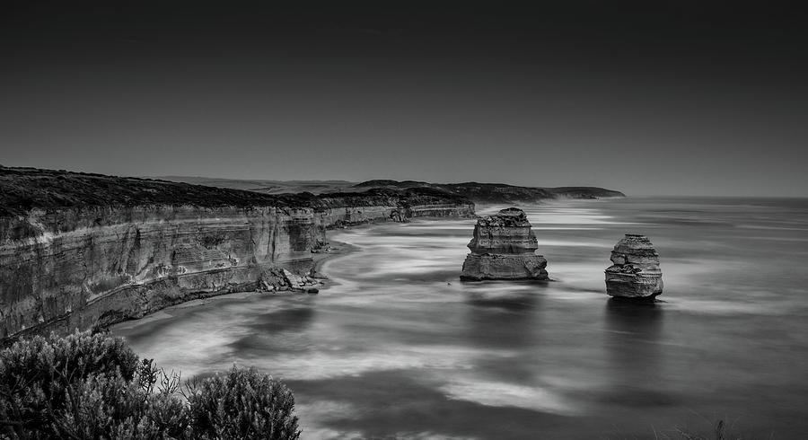 Gog and Magog at The Twelve Apostles by Chris Cousins