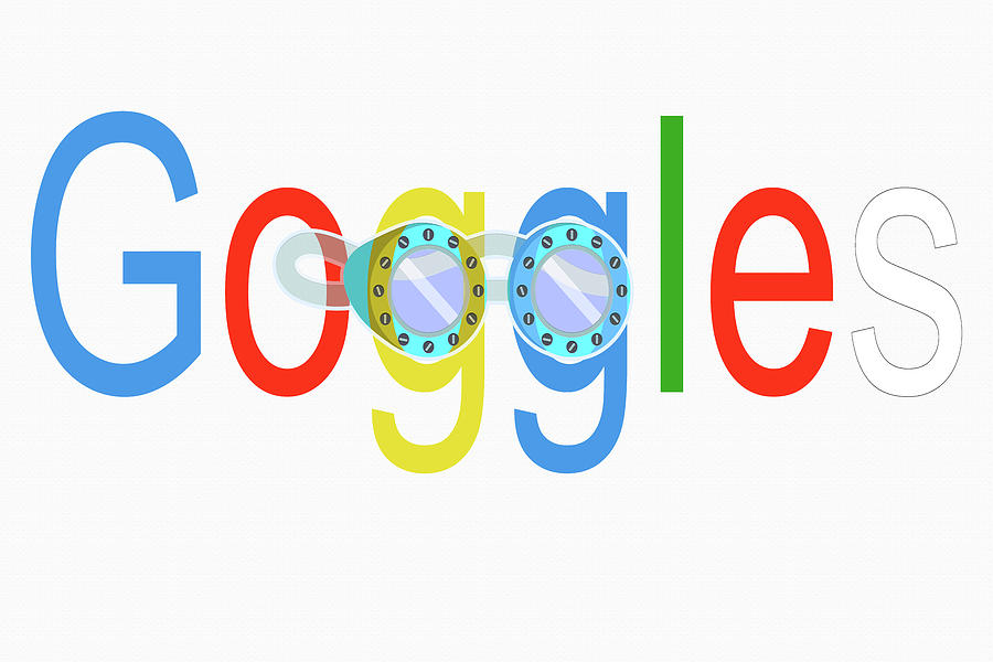 Google Digital Art - Goggles Logo by Steve Ohlsen