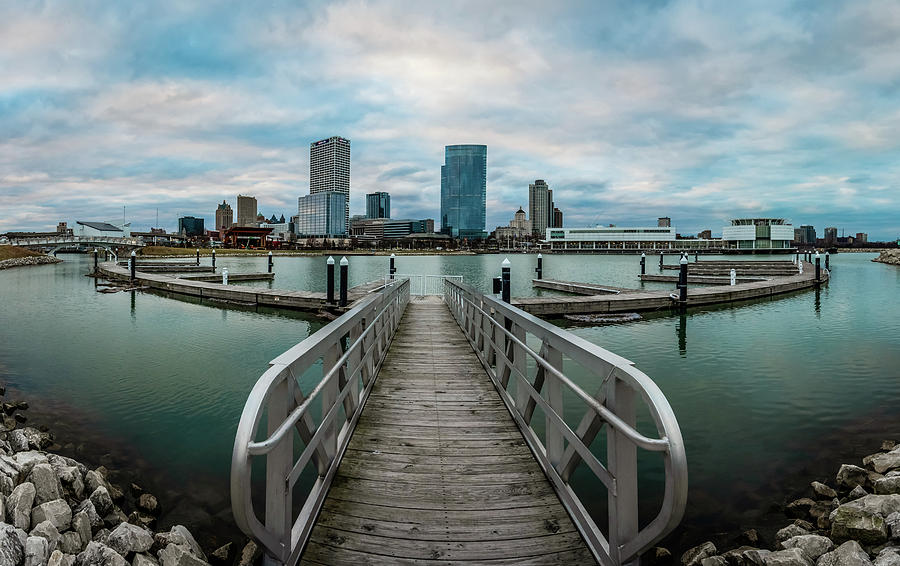 Going Wide at Lakeshore State Park by James Meyer