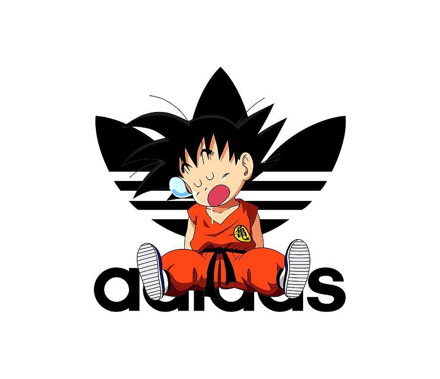 online retailer ef5df 1981a Goku Adidas
