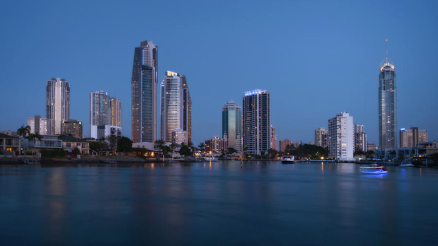 Gold Coast Cityscape by Catherine Reading