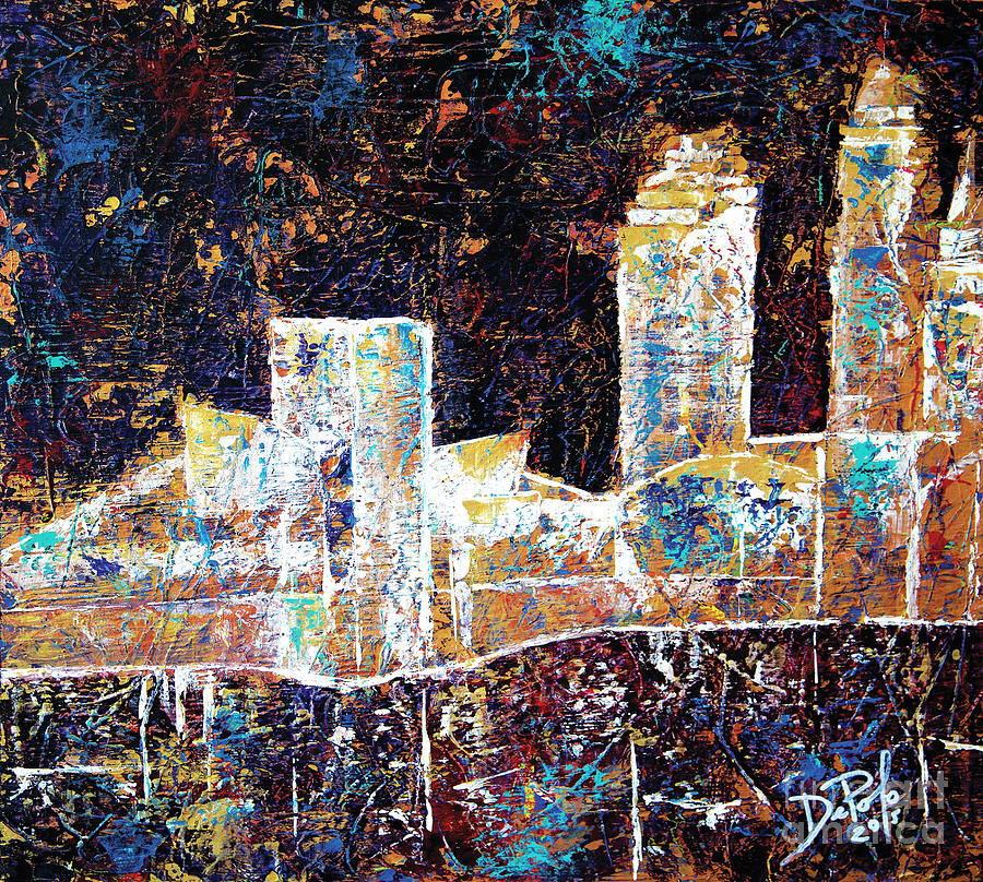 Cleveland Ohio Painting - Gold Coast Cleveland by JoAnn DePolo