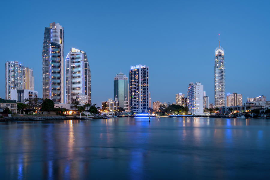 Gold Coast Skyline by Catherine Reading