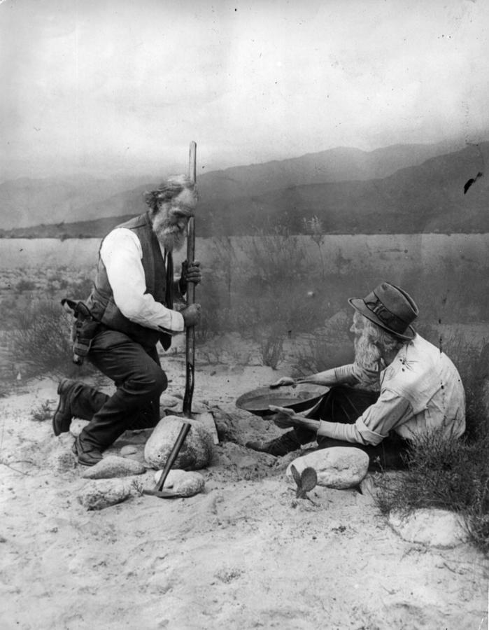 Gold Prospectors Photograph by General Photographic Agency
