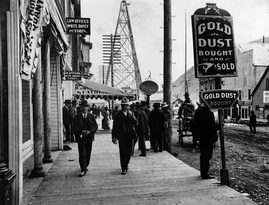 Gold Town Photograph by Henry Guttmann Collection