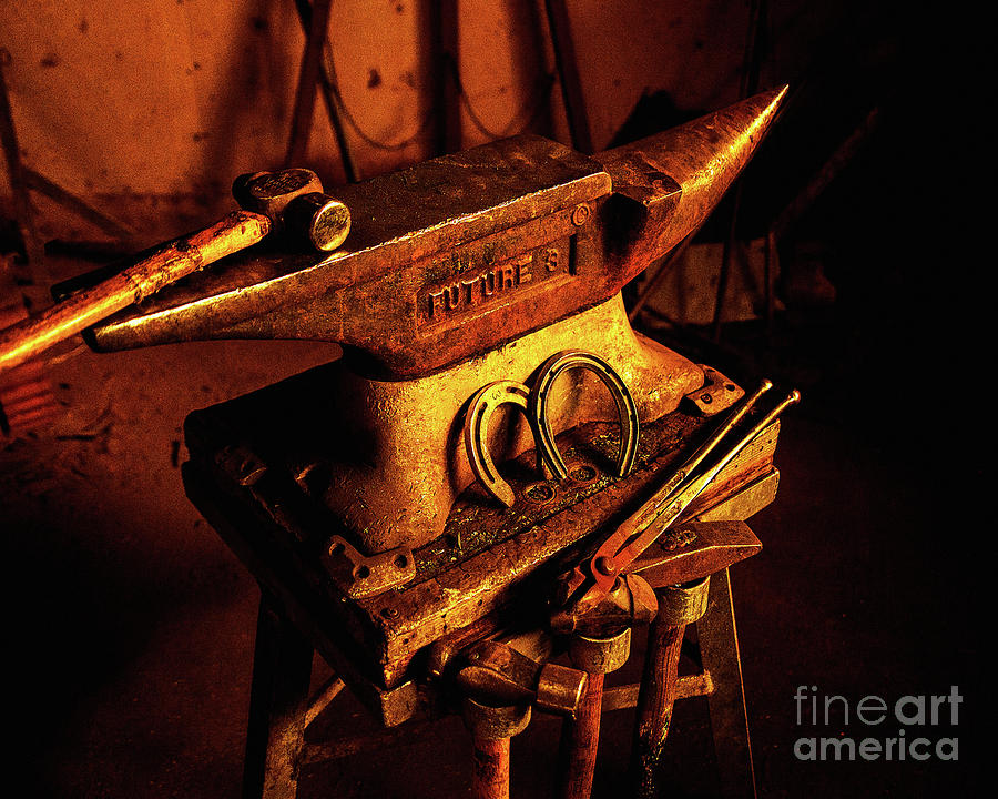 Golden Anvil by Jerry Cowart