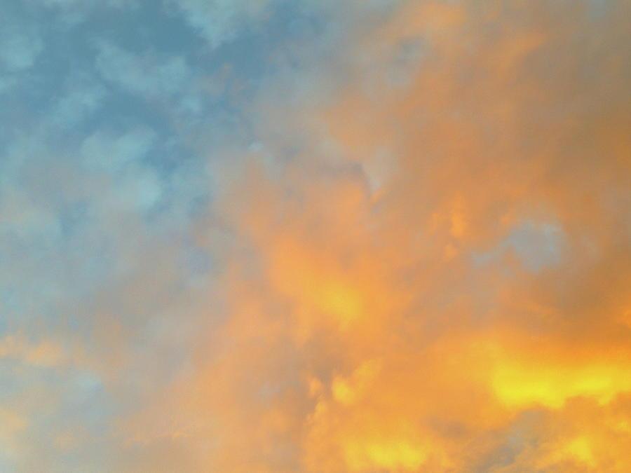 Golden Blue Sky by Elizabeth Anne