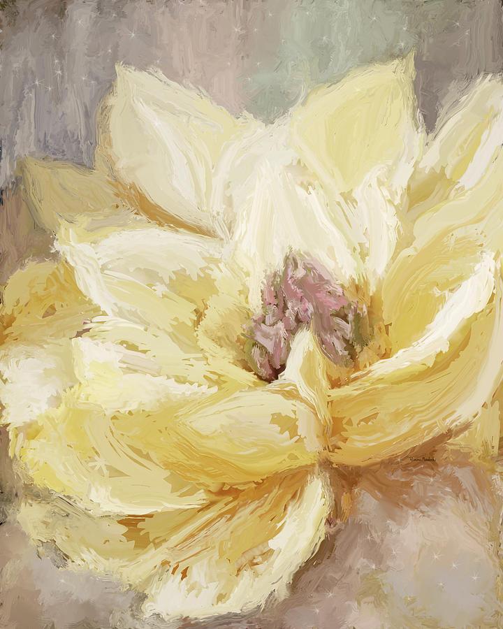Golden Dahlia 2 by Ramona Murdock