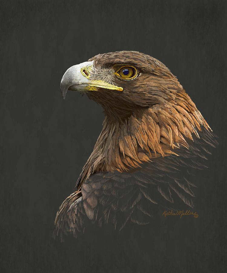 Golden Eagle by Kathie Miller