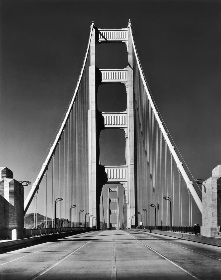 Golden Gate Bridge Photograph by Hulton Collection