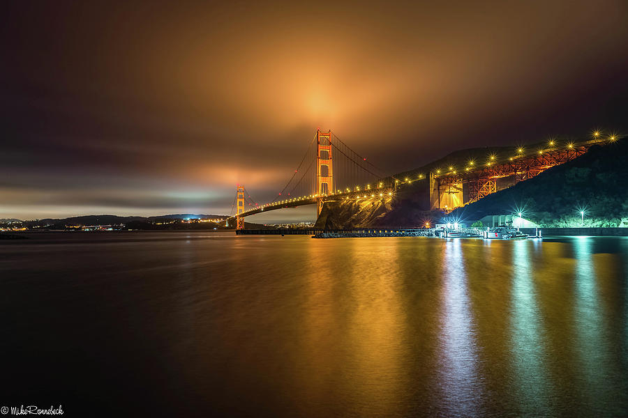 Golden Gate Bridge by Mike Ronnebeck