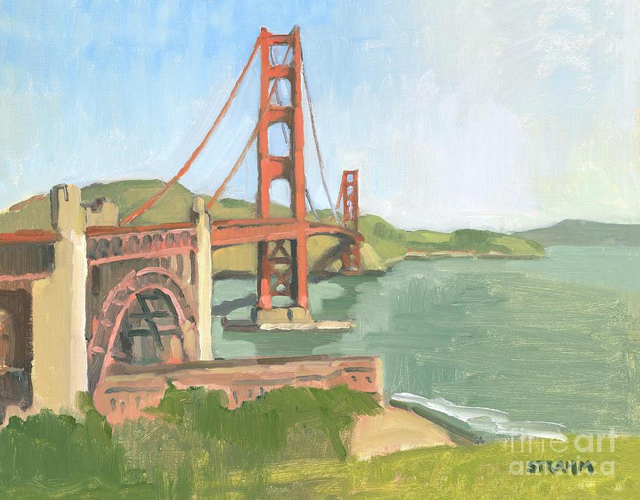 Golden Gate Bridge San Francisco California by Paul Strahm