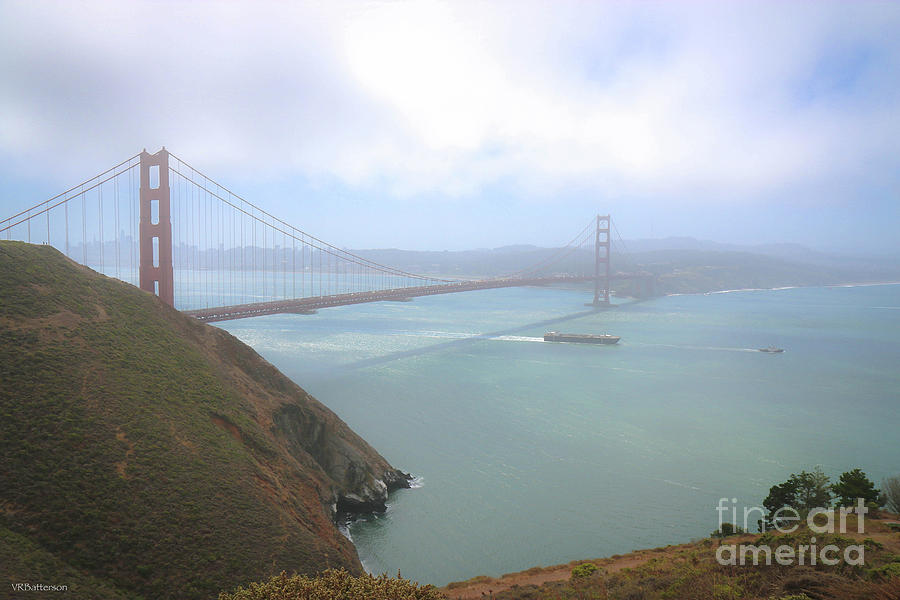 Golden Gate Bridge by Veronica Batterson
