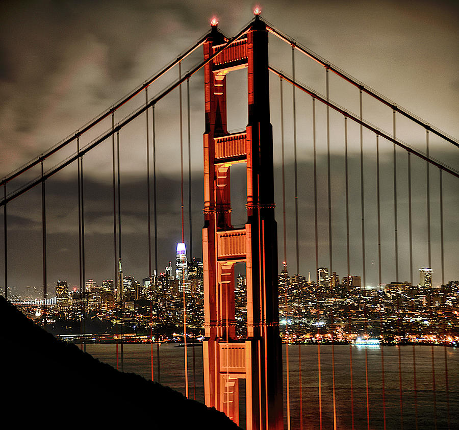 Golden Gate Cityscape Photograph