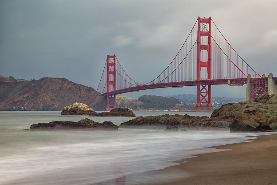 Golden Gate Photograph by Jan Maguire Photography