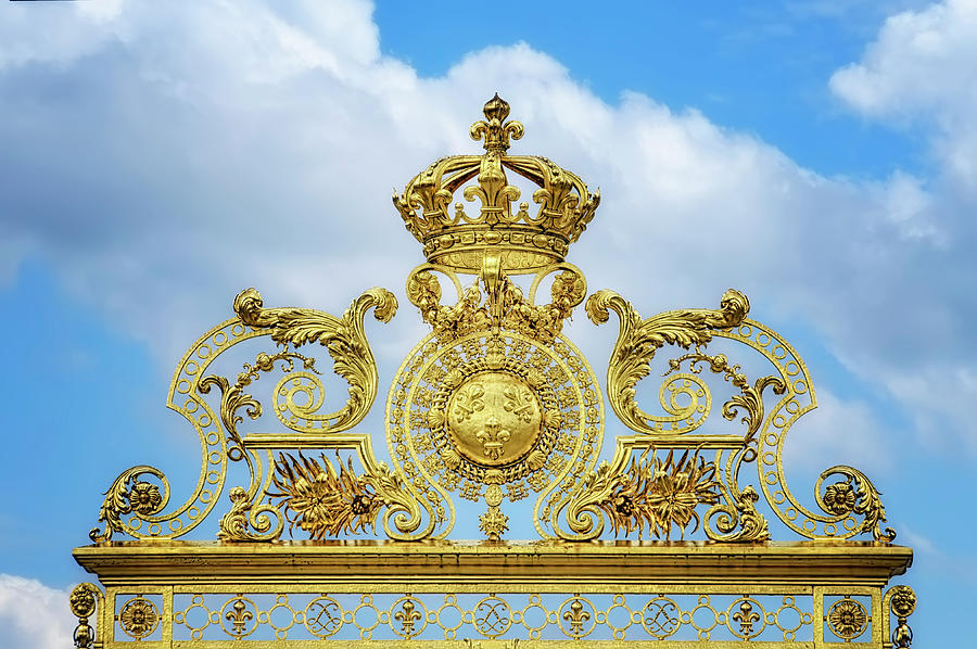 Travel Photograph - Golden Gate Of The Palace Of Versailles II by Cora Niele