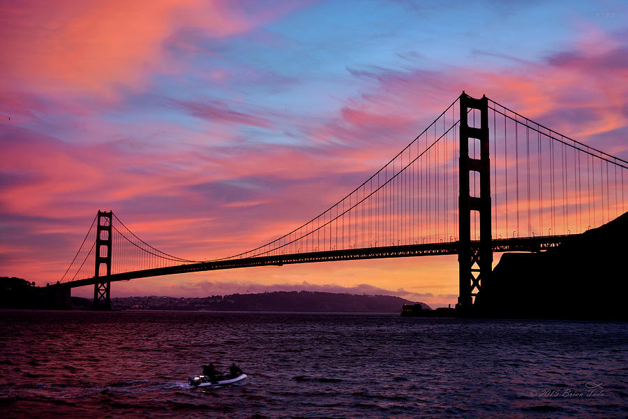 Golden Gate Sunset by Brian Tada