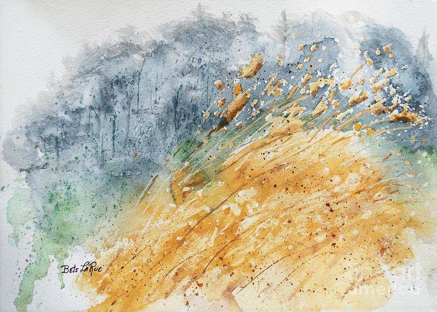 Golden Grasses by Betty LaRue