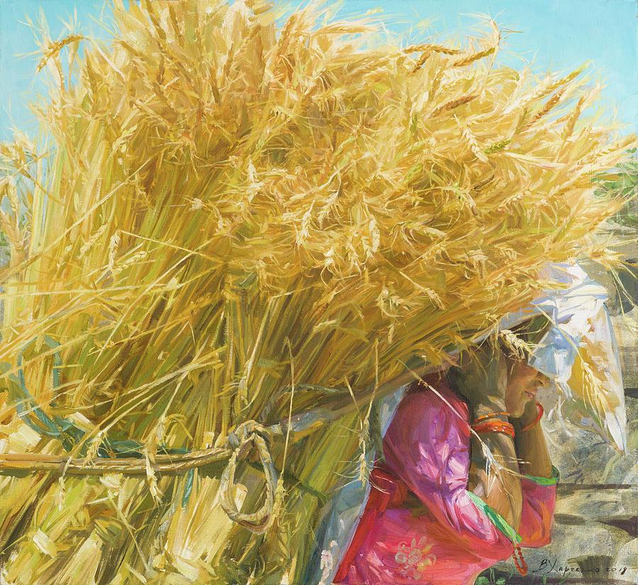Golden Harvest Painting
