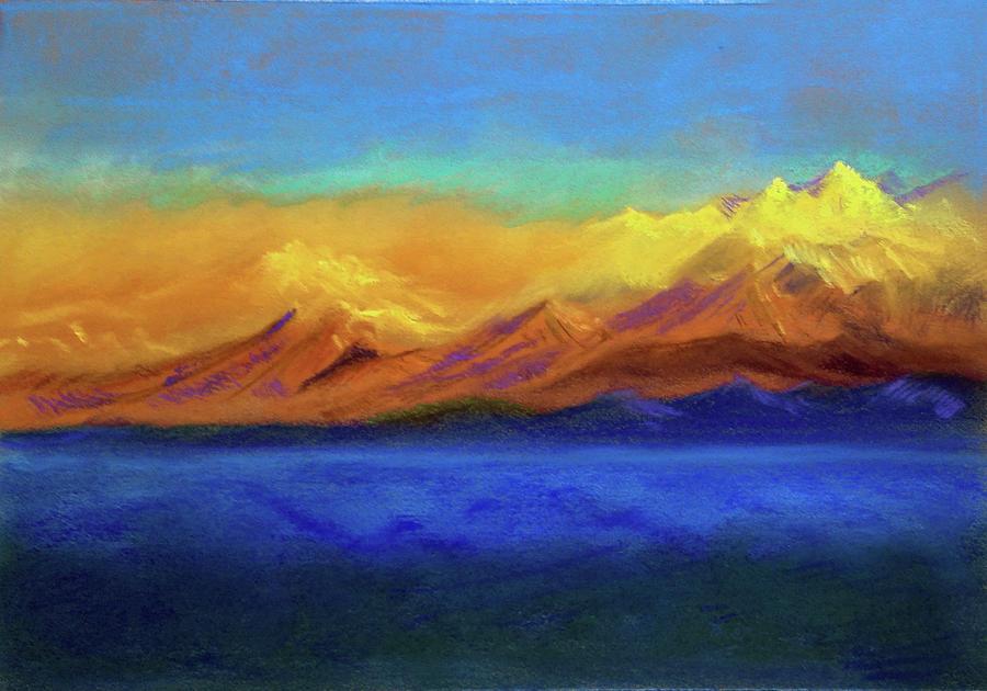 Golden Himalayas by Asha Sudhaker Shenoy