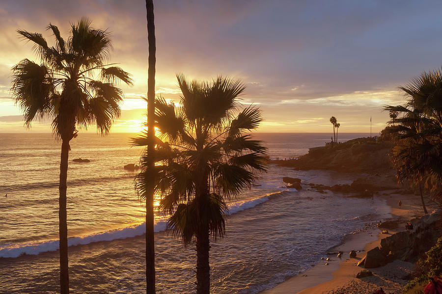 Golden Hour Heisler Park by Cliff Wassmann