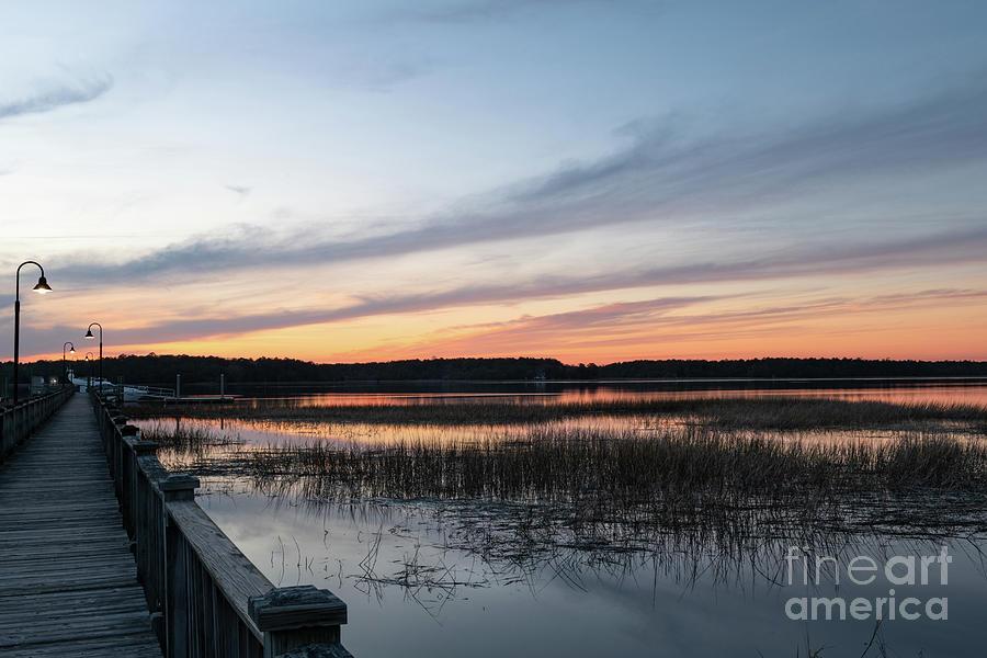 Golden Hour - Wando River Photograph