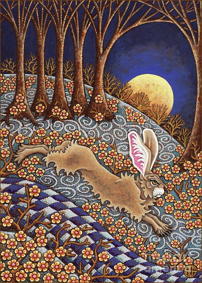 Golden Moonlight Gallop  by Amy E Fraser