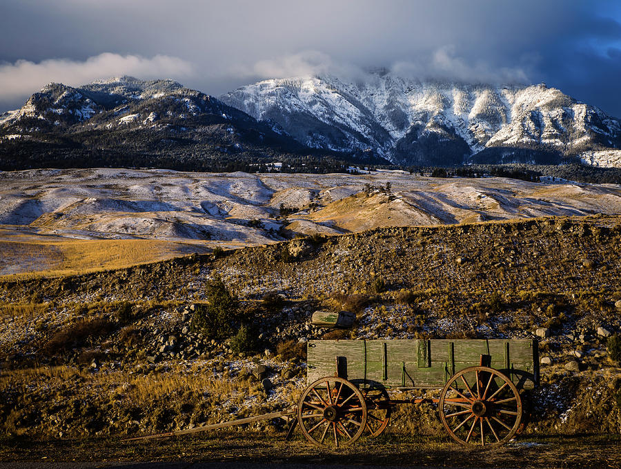 Golden Morning in Montana by Kathleen Scanlan
