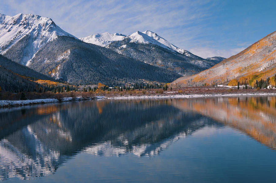 Golden Mountain Majesty Photograph by Mike Berenson / Colorado Captures