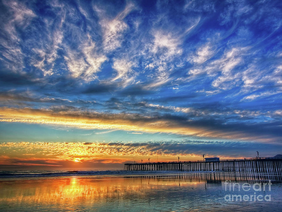 Golden Pismo Sunset by Beth Sargent