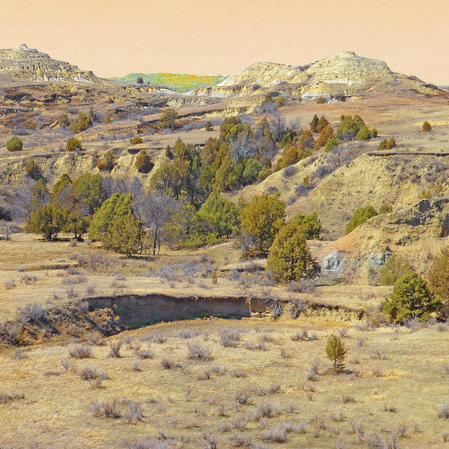 Golden Prairie Realm Reverie by Cris Fulton
