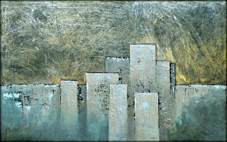 Golden Skyline II Painting