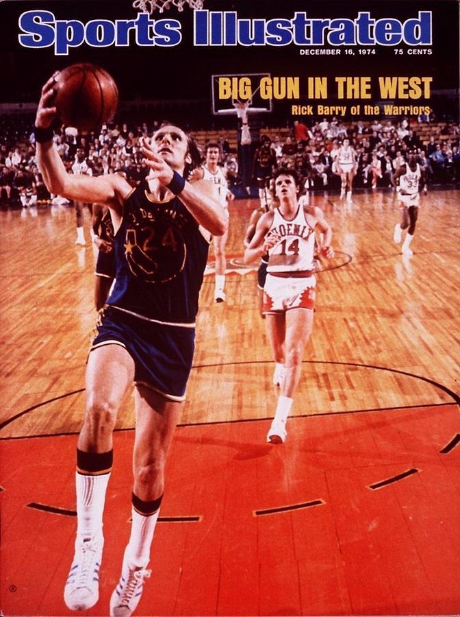 Golden State Warriors Rick Barry... Sports Illustrated Cover Photograph by Sports Illustrated