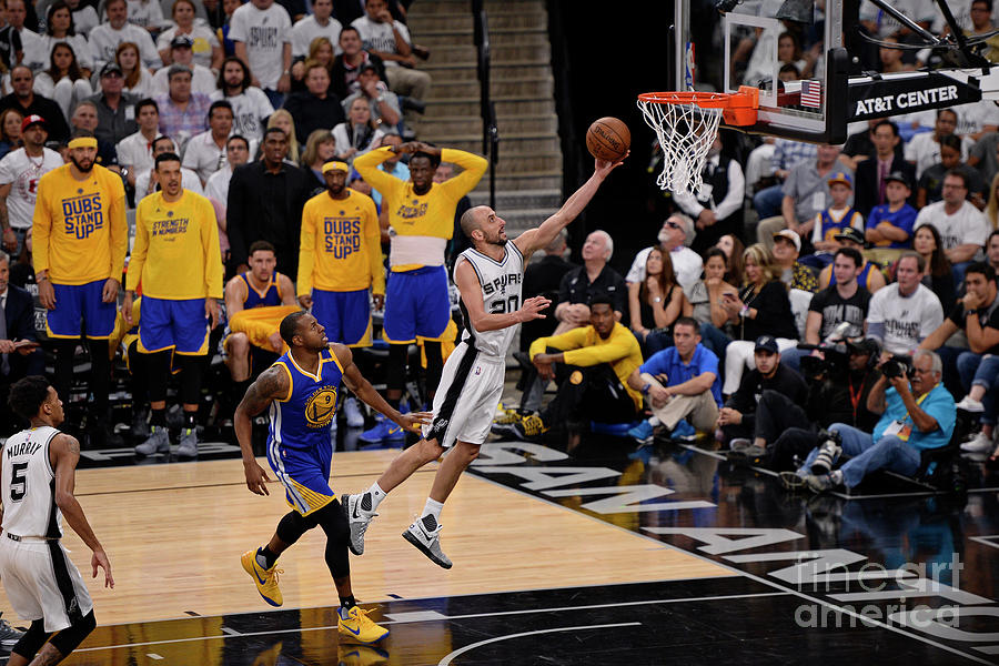 Golden State Warriors V San Antonio Photograph by David Dow