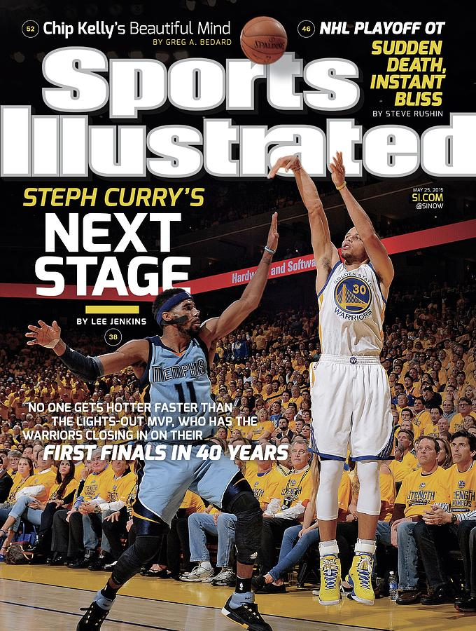 Golden State Warriors Vs Memphis Grizzlies, 2015 Nba Sports Illustrated Cover Photograph by Sports Illustrated