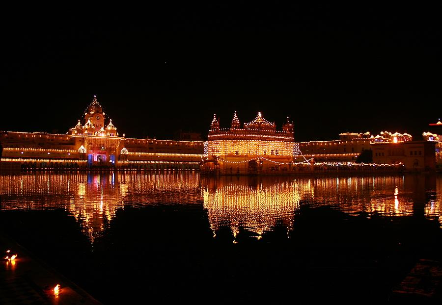 Golden Temple, Amritsar, Reflecting On Photograph by Renu Singh Photography
