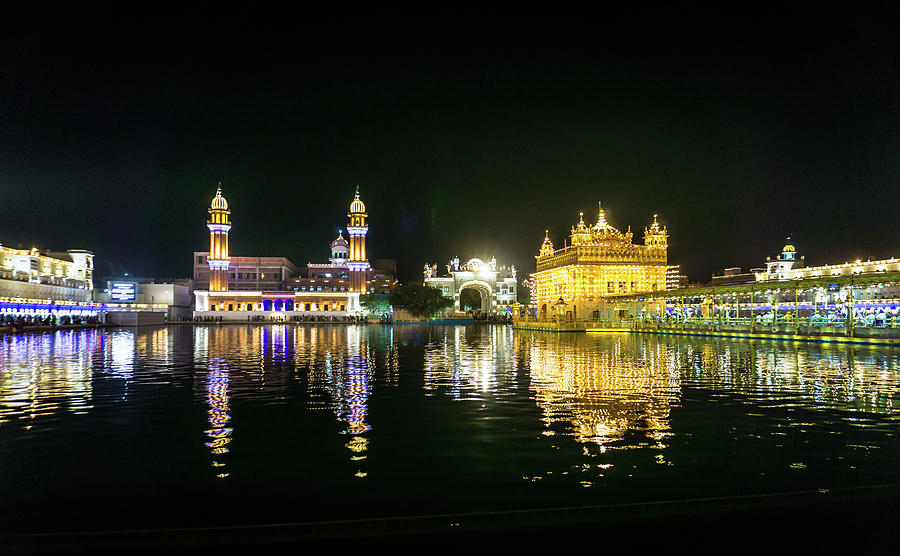 Golden Temple Gurdwara by Gary Gillette