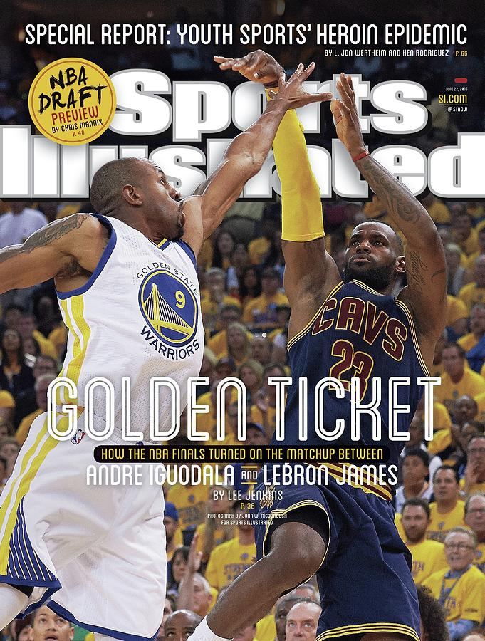 Golden Ticket How The Nba Finals Turned On The Matchup Sports Illustrated Cover Photograph by Sports Illustrated