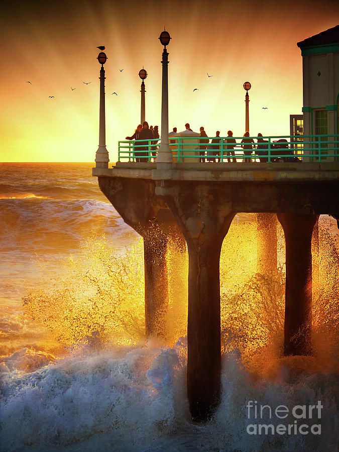Golden Waves by Jerry Cowart